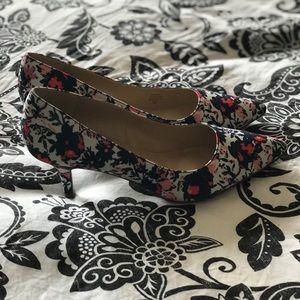 Unisa floral heels